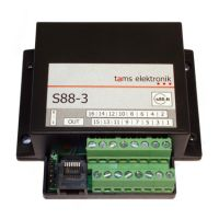 Tams 44-01208-01 Gehäuse für s88-Booster S88-2 Fabrikneu
